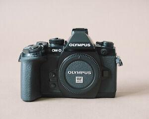 Olympus OM-D E-M1 Digital Camera Body - Black - Fully working - Good Condition
