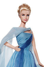 American Actress Princess Grace Kelly To Catch A Thief Blue Gown Barbie Doll