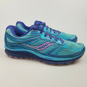 Women's SAUCONY 'Guide 9' Sz 10 US Runners Blue Purple VGCon   3+ Extra 10% Off