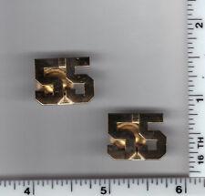 THIRD WATCH Television Show - New York City 55th Precinct Collar Brass Set
