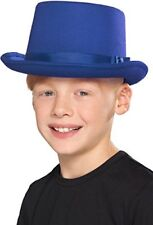 Smiffys Smiffy' S 48825 Kids Top hat Blu Taglia unica