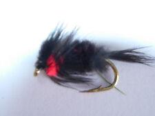 Cebos y señuelos de pesca rojos 1/0