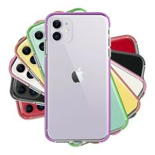 For iPhone 11 Pro Max XR XS 8 7 6 Plus SE 2nd Clear Cute Hybrid TPU Case Cover