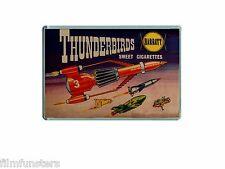 60's NOSTALGIA -THUNDERBIRDS - SWEET CIGARETTE ADVERT - JUMBO FRIDGE MAGNET #3