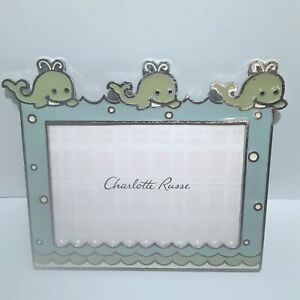 *NEW* Charlotte Russe 3.5 X 5 Baby Picture Frame Metal