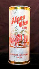 ALPEN GLEN BEER - EARLY 1970'S - 16OZ HALF QUART PULL TAB CAN - SAN FRANCISCO