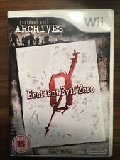 Nintendo Wii game RESIDENT EVIL Zero