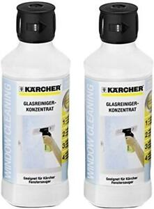 KARCHER 500ml Glass Cleaning Concentrate For Window Vac Cleaner x 2 62957950