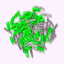 X36 Outdoor Archery Accessories ID 4.2 Anti-nailing Arrows Green Nocks Tails