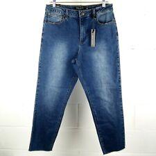 Max Jeans Mom Jean Women Size 12 Blue Stretch