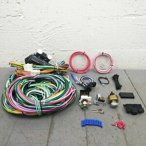 1929-61 Dodge Desoto 12V Main Wiring Harness Upgrade Headlight Switch Kit mopar
