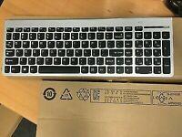 Lenovo SK-8861 Ultraslim PC Silver Wireless Keyboard for Lenovo HORIZON No USB!