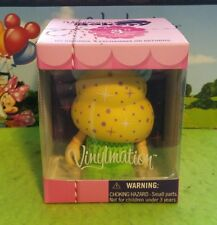 "DISNEY Vinylmation 3"" Park Set 1 Bakery Cupcake Tinker Bell with Box & Card"