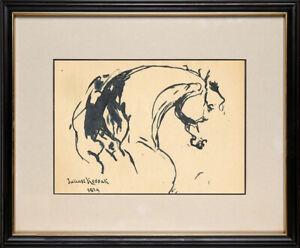 Juliusz Kossak - OLD INK !!! Best PRICE !!! 100% BEST POLISH ARTIST !!!