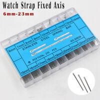 270PCS 6-23mm Watch Band Strap Spring / Split Cotter Bars Link Pins Quality