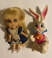 Liddle Kiddle Alice In Wonderland 1968 Storybook Rabbit Vintage Mattel 1969