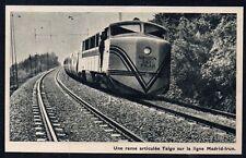 1960  --  ESPAGNE   UNE RAME ARTICULEE TALGO LIGNE MADRID IRUN   3M152