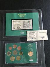 Coffret Série Euro 2002 Italie et 200 Lires Vatican - 50000 Ex avec Certificat