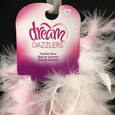 Toys R US Dream Dazzlers Feather Boa with Tinsel - Pink New