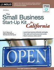 The Small Business Start-Up Kit for California by Peri H. Pakroo (2012,...