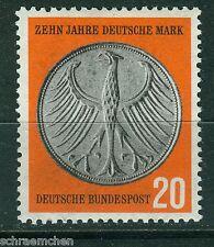 Bund 291  , ** , 10 Jahre Deutsche Mark