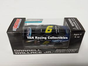 Bubba Wallace 2015 Lionel #6 Ford Ecoboost Mustang Diecast 1/64 FREE SHIP
