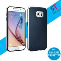 RomeTech Blue Slim Protective TPU Phone Back Cover Case for Samsung Galaxy S6