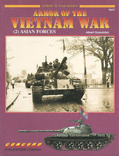 CONCORD ARMOR OF THE VIETNAM WAR (2) ASIAN FORCES ARVN PAVN ARK FANK LAOS TANKS