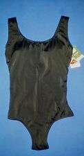 L.L. BEAN Size 8 SWIMSUIT 1-Piece Bathing Suit Black SLIM & SEXY Sunblock 50 NWT