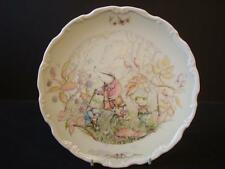 ROYAL DOULTON THE WIND IN THE WILLOWS RAMBLING IN THE WILD WOOD PLATE