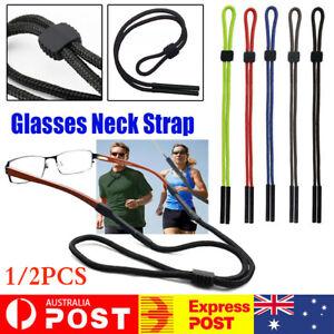 Reading Eyeglass Glasses Chain Cord Lanyard Sunglasses Neck Holder Sports Strap