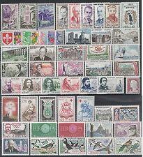 Timbres France Neufs ** - Année 1960 complète