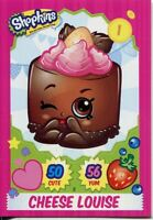 Topps Shopkins Series 1-4 Trading Cards Base Card #8 Cheese Louise