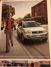 Toyota Rav4, 2003, Full Page Vintage Print Ad