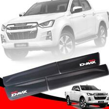 Black Side Doors Body Cladding Red Logo For Isuzu Holden Rodeo Dmax D-max 2020