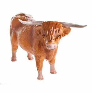 John Beswick Collection Ceramic Highland Cow Figurine Approx 14cm H