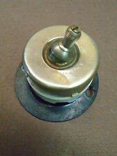 BRASS PORCELAIN 'ON-OFF' ARROW FLIP SWITCH, WORKS FINE (3400-9)