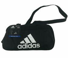 NWT ADIDAS Diablo Small Duffel Gym Bag/Travel Bag --Black/White