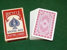 Vintage Collictable Bridge Size DOILY BACK Bicycle 86 Playing Cards