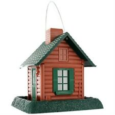 North States 9083 Log Cabin Birdfeeder, Holds 5 Lbs Seeds