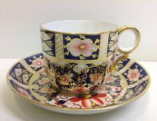 "Royal Crown Derby ""Imari"" Pattern 2451 Coffee Cup & Saucer."