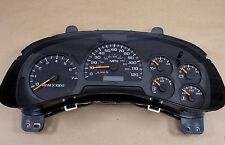 2002-2005 Chevy Trailblazer Instrument Gauge Cluster Speedometer Reman Rebuilt