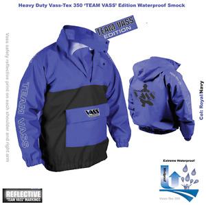 Vass-Tex Team vass Heavy Duty Navy Smock / Waterproof Windproof / All Sizes