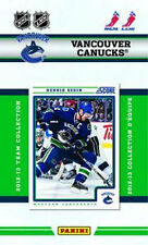 Vancouver Canucks 2012 13 2013 Score Factory Team Set Luongo Sedin Hamhuis Ryan