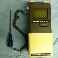 IVAC TEMP PLUS II 2080 Thermometer Good Cond. Does Not Power Up, Missing 1 Probe