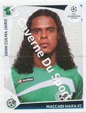 N°067 JOHN CULMA COLOMBIA MACCABI HAIFA.FC STICKER PANINI CHAMPIONS LEAGUE 2010