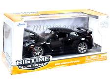 JADA BIGTIME 96811 2009 09 NISSAN SKYLINE GT-R GTR R35 1/24 DIECAST BLACK