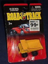 Road & Track Motor Max P380 Dump Truck Yellow w/ Metal Bed