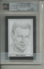 11/12 ITG ULTIMATE Memorabilia Give-Away Sketch Card Dany Heatley 1/1