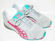 Womens PUMA Athletic Shoes Sz 8 US GRAY Leather Worn Only Once